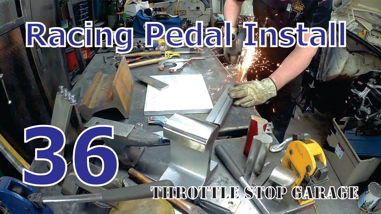 Volvo Amazon Installing Tilton Floor Mount Racing Pedals - Pt  1 (Ep  36)