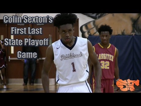 Colin Sexton's First Last State Playoff Game | Pebblebrook vs. Lassiter Highlights