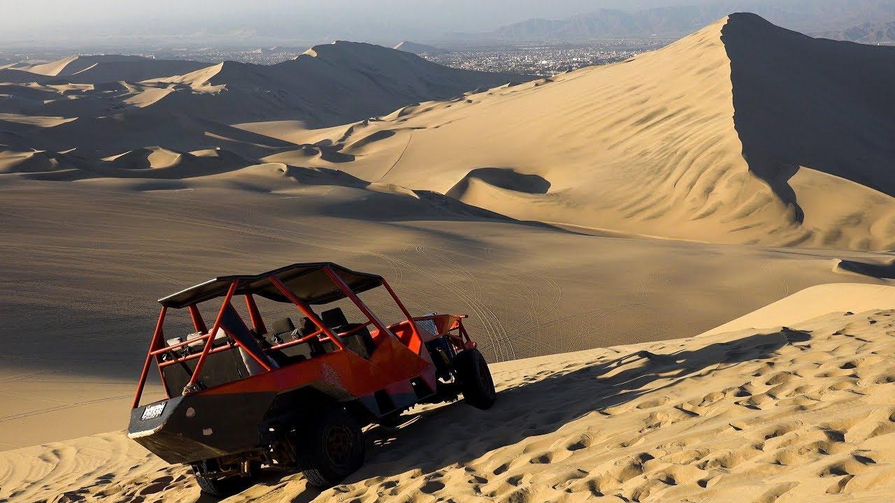 Huacachina Desert Oasis Peru In 4k Ultra Hd