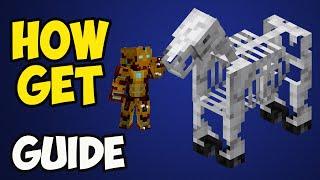 Minecraft 1.17.1 How t๐ Get a Skeleton Horse in Survival (2021) (3 WAYS)