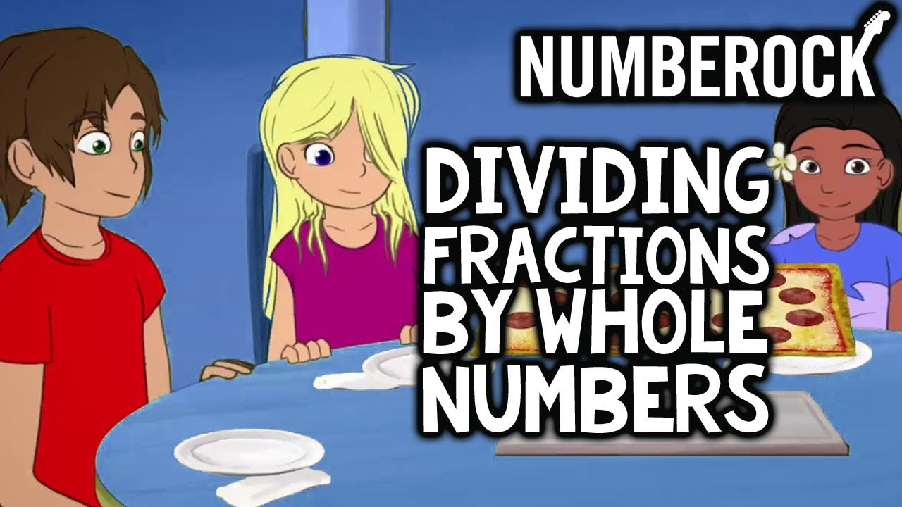 Dividing fractions by whole numbers song by numberock youtube dividing fractions by whole numbers song by numberock ccuart Choice Image