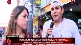 Venezolanos insultan a peruanas y dicen que tienen 'cara de indias'