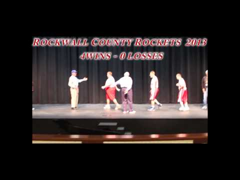 Rockwall County Rockets 2013 Gold