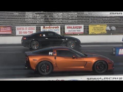 1100 HP Nissan GTR vs. Corvette Z06 Hyundai Genesis vs. BMW M3
