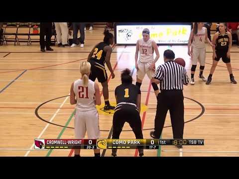High School Girls Basketball: Cromwell-Wright vs. Como Park