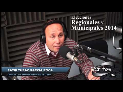 ESCUCHA  A TU CANDIDATO A TRAVÉS DE VERITAS RTV - SAYRI TUPAC GARCIA ROCA –