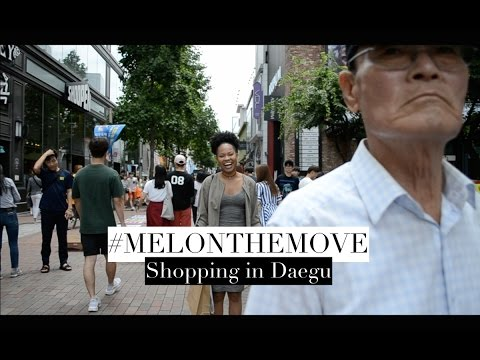 VLOG | Shopping in Daegu!