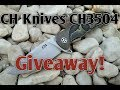 Giveaway: CH Knives CH3504 Skull S35VN EDC Flipper Knife!