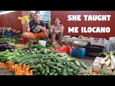 Foreigner Learning Ilocano Language and Cooking Ilocano Food (Part 1)