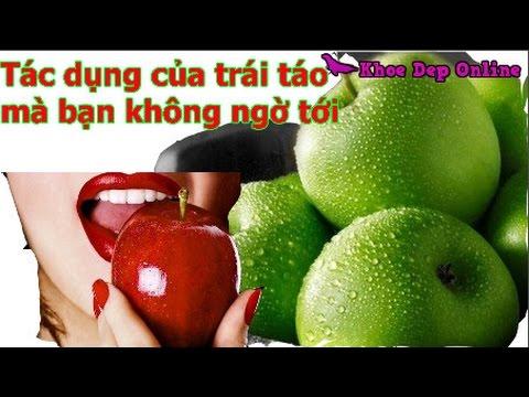 Tác dụng tốt đến khó tin của trái táo mà bạn không ngờ tới