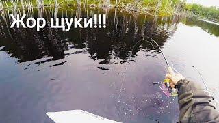 Рибалка В Карелії. Жор щуки. Засадили машину