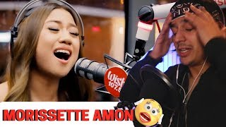 "Morissette Amon performs ""Rise Up"" LIVE on Wish 107.5 Bus | Reaction"