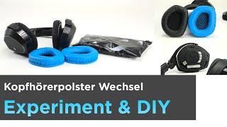 Kopfhörerpolster wechseln Sennheiser RS175. Welchen Einfluss haben unpassende Polster auf den Klang?