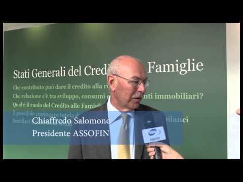 Intervista a Chiaffredo Salomone, Presidente Assofin