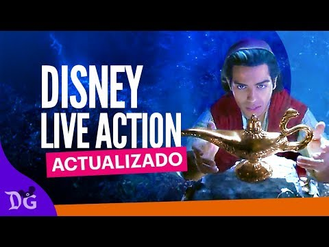 Disney Live Action Actualizado