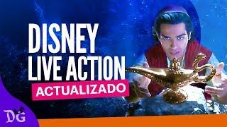 Disney Live Action (Actualizado)
