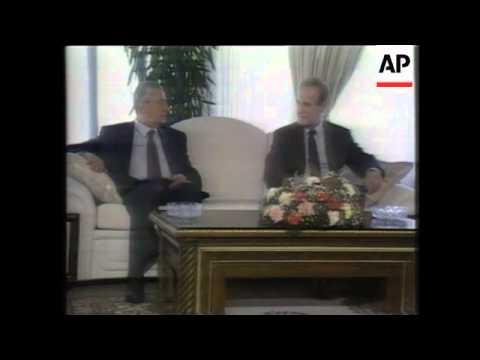 Download Mitterrand Guarantees Asylum for Auon / Chamoun Assassinated, Militias Depart Beirut, Army Takes Ove