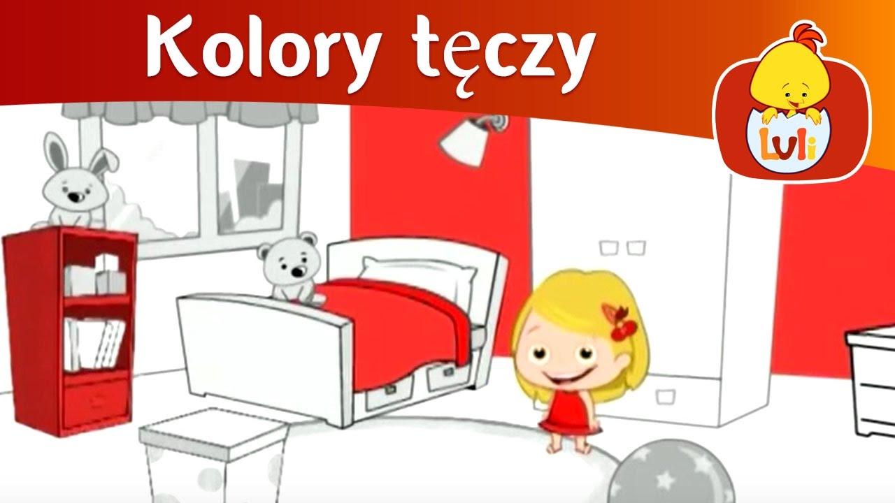 Kolory Tęczy Czerwony Dla Dzieci Piosenki Dla Dzieciinfo