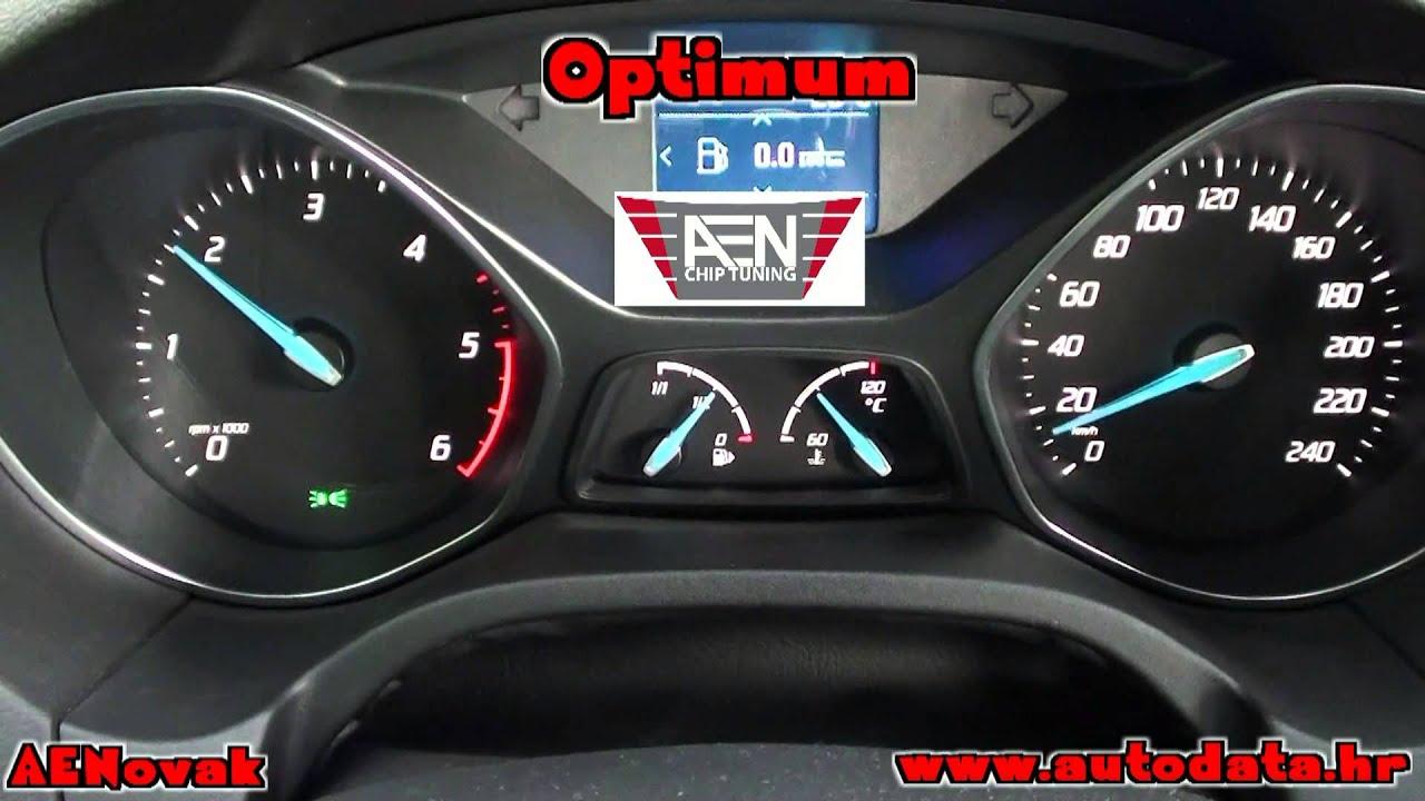 Ford Focus 1 6 Tdci 85kw 115ks 2013g Sid807evo Aenovak