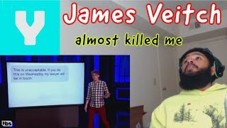 James Veitch's Elaborate Wrong Number Prank | I almost died!