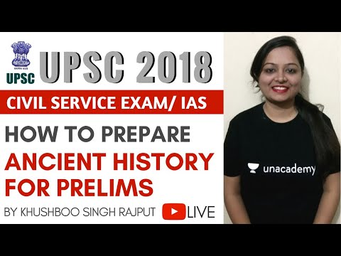 UPSC 2018 - How to Prepare Ancient History for Prelims by Khushboo Singh Rajput