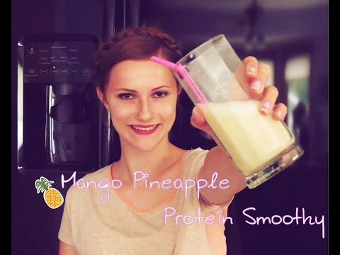 Mango Pineapple Protein Smoothie