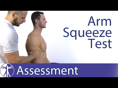 Arm Squeeze Test | Cervical Nerve Root Compression