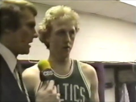 Boston Celtics 1981 Title Celebration Interviews with Rick Barry