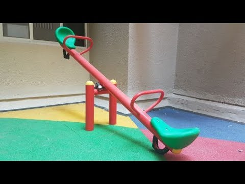 Kids Play Equipment, Deluxe Seesaw SS02 By Royal Play Equipment.