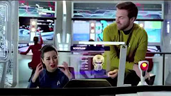 Funny Esurance Star Trek TV Commercial Ad Car Auto Insurance with Comedian Darrin Rose as Captain