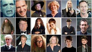 """ϟ Как выглядят актеры из """"Гарри Поттера"""" ϟ"""