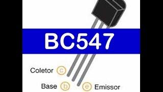 Transistor BC547 Como Medir / Testar