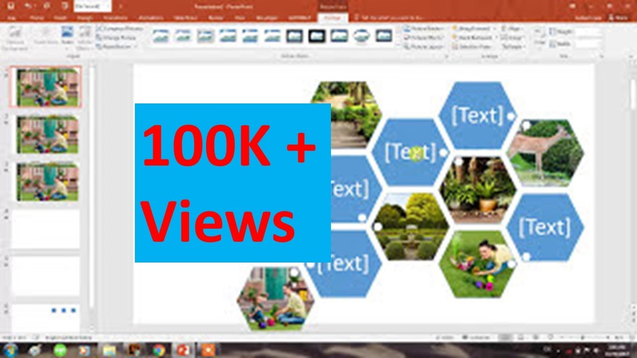 How to create collage of Photos in seconds in Powerpoint ...