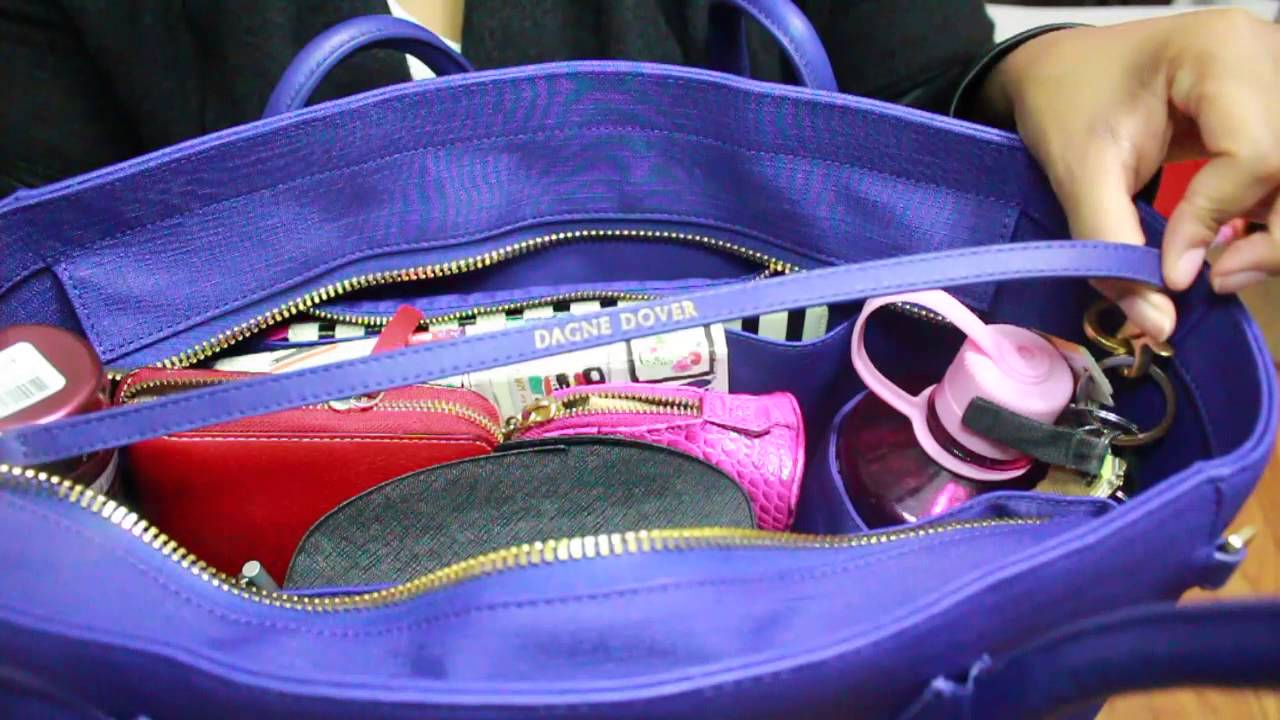 Dagne Dover Tote Review: What's In my Bag?