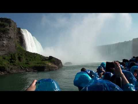 Maid of the Mist Boat Ride, Niagara Falls [Full HD]