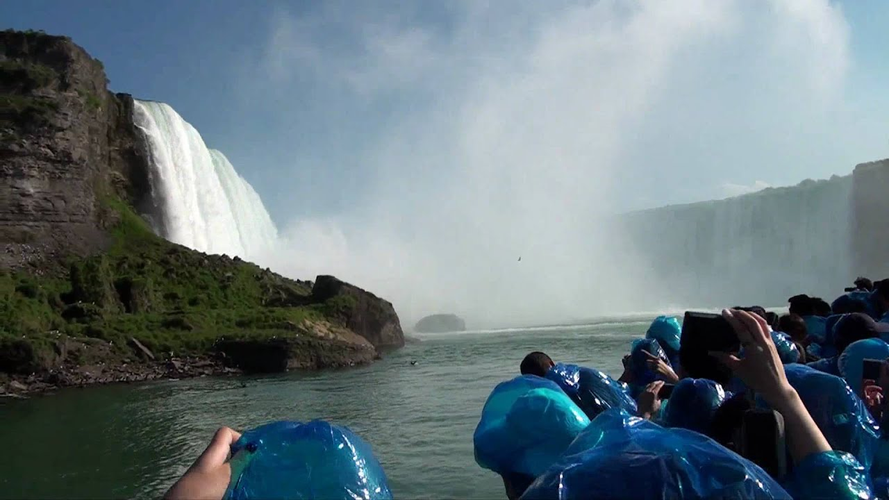 Maid Of The Mist Boat Ride Niagara Falls Full Hd Youtube