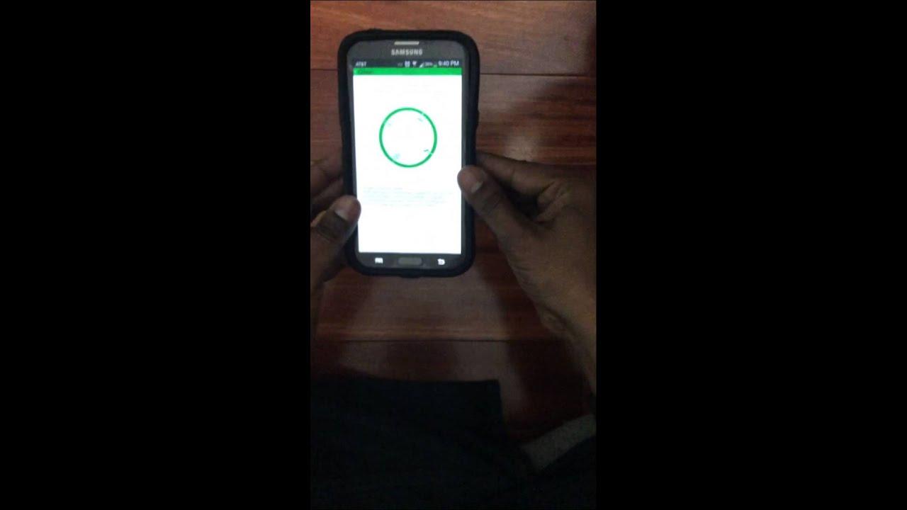 Islamic Calendar Android Magnetic Sensor Calibration
