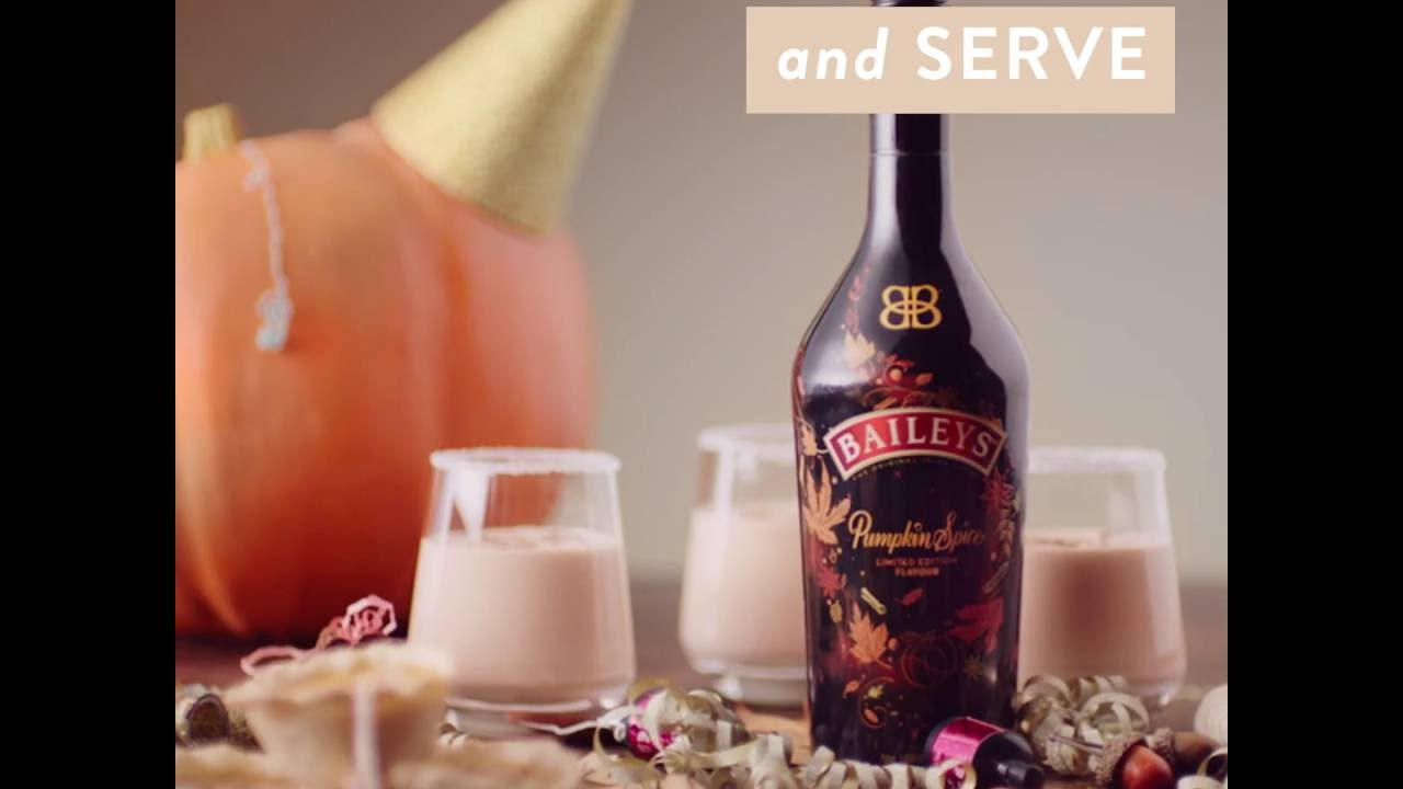 How To Make A Delicious Baileys Pumpkin Spice Punch Youtube