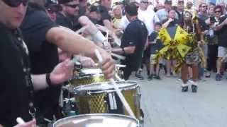 FCDC Fat City Drum Corp New Orleans Saints vs Minnesota Vikings September 21, 2014