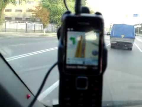 навигация в Nokia 2710 Navigation Edition