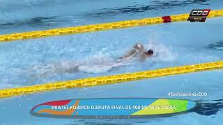 Kristel Kobrich ganó medalla de oro en Juegos Suramericanos 2018