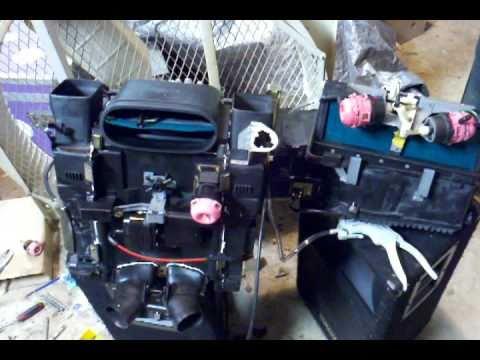 Ac Blower Motor Wiring Diagram Schematic Mercedes W126 Hvac Box Rebuild 1990 Model Year Youtube