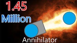 Diep.io – Angry Annihilator | 2-Team - 1.45 Million