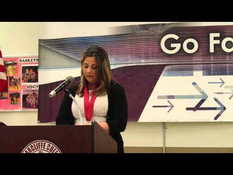 Briarcliffe College 2014 Salutatorian Tricia Milano Award Acceptance Speech