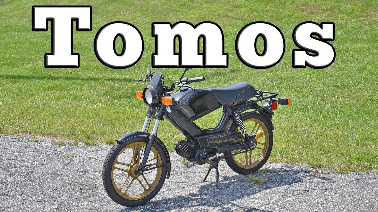 1987 Tomos Golden Bullett TTLX: Regular Car Reviews