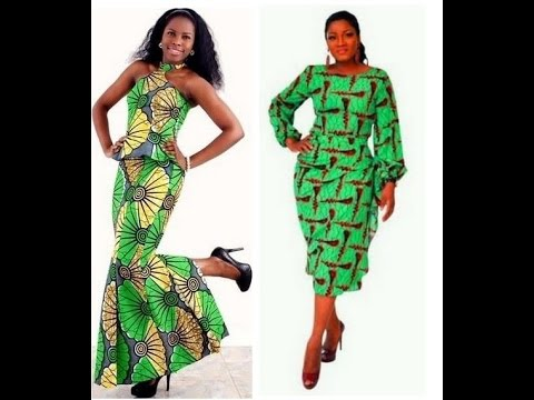 100 Unique Ankara Styles For Women African Fashion Youtube