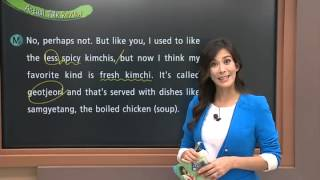 Actual English with Jennifer - Lesson 282. Korean Food (2)_#001