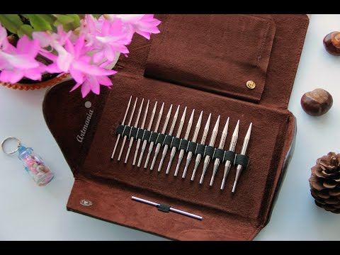 Набор спиц для вязания со сменными лесками Addi Click Lace (Адди Клик)