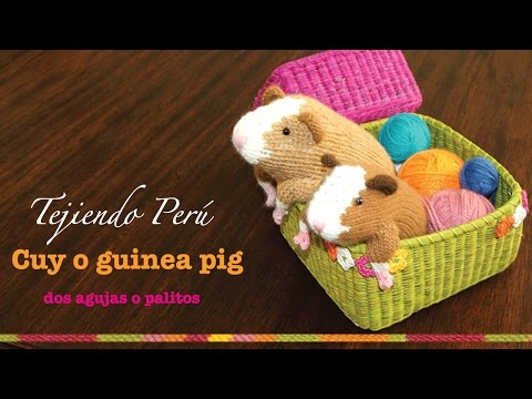 Amigurumi Guinea Pig : How to crochet a cute amigurumi guinea pig diy crafts tutorial
