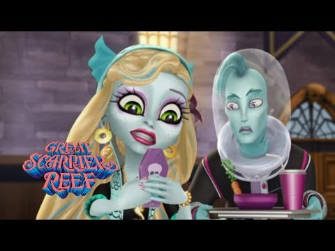 Монстр Хай мультик 🐙 Лагуна Блю - монстр-мем 😱 Большой Кошмарный Риф Monster High